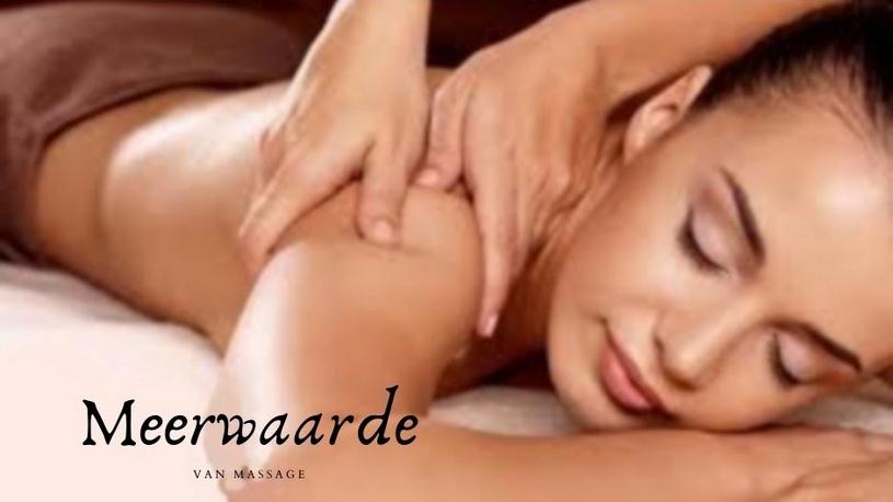 meerwaarde van massage