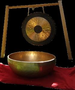 gong en klankschaal